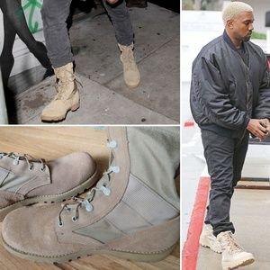 Desert Combat Boots - Vibram soles